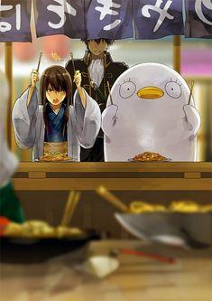 Tags: Gin Tama, Hijikata Toushirou, Katsura Kotaro, Elizabeth