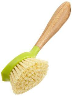 Full Circle Be Good Kitchen Dish Brush with Bamboo Handle, Single Brush, Green Lime Green Kitchen, Green Kitchen Decor, Bamboo Dishes, Household Cleaning Tips, Cleaning Brushes, Best Brushes, Kitchen Dishes, Green Cleaning, Brush Cleaner