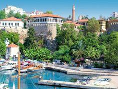KALEİÇİ / ANTALYA Turkish Architecture, Republic Of Turkey, Worldwide Travel, Orient, Mediterranean Sea, Antalya, Istanbul, Beautiful Places, To Go