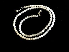 White Jade Eyeglass Chain-Necklace by HeavenlyChains on Etsy
