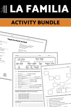 Family vocabulary words are one of those things everyone has to cover, whether you teach with a textbook or not. This year I have been introducing and practicing la familia vocabulary in a few different ways and I think it's been great! Check out these easy activities, listening, writing practices, and reading activities for ideas on how to teach la familia or family vocabulary in Spanish class!