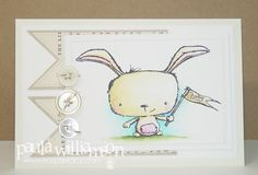 Babyavery by Paper Possibilities (stamps illustrated by Stacey Yacula avail at Purple Onion Designs)