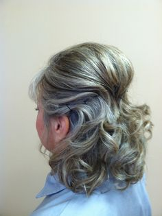 Mother Of The Bride Side View Paul Hyland Salon And Day Spa Crystal Lake Wedding Updowedding Hair