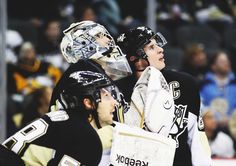 love this! Crosby, Fleury, and Letang