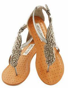 590b09fdb A Flight to See Sandal in Silver Flat Wedding Sandals