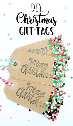 Make your own diy christmas crackers the perfect craft idea for these sparkly glitter handmade gift tags are perfect for making your christmas gifts extra special this christmas diy will be a great fun craft to make solutioingenieria Gallery