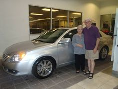 Ray Collins with his 2008 Toyota Avalon from our quality pre-owned selection. Lookin' good!