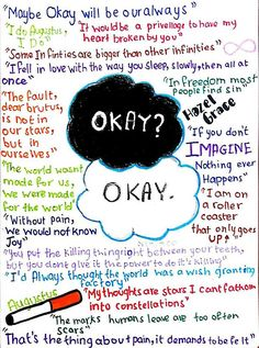 Quotes From The Fault In Our Stars The Fault In Our Stars  Creativity & Animations Pinterest .