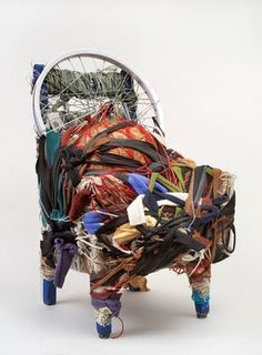 Judith Scott, she has down syndrome and is deaf. Amazing Twine art.
