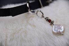 Pet Charm, Collar Charms, Dog Collar Charms, Cat Collar Charms, Pet Accessories, Gift for Cat, Gift for Dog, Christmas Gift for Pet, Pearls