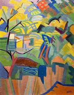 André Lhote (1885 - 1962) |  Fauvism | Acacias - 1959