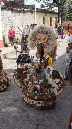 Celebracion del Dia de Lempira en la ciudad de Gracias 2014 Honduras Central America