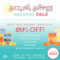 Enjoy 20% Off These scents this #weekend!