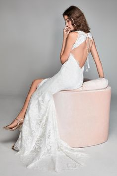 willow by watters spring 2018 sleeveless v neck full embellishment middle slit elegant sheath wedding dress keyhole back sweep train bv -- Willowby by Watters Spring 2018 Wedding Dresses Wedding Suits, Wedding Gowns, Backless Wedding, Marriage Day, Nordstrom Dresses, Elegant, Bridal Collection, Marie, Formal Dresses