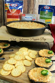 Delicious Hot Jalapeno Popper Dip doesn't taste like you mixed it up in 5 minutes, but you will! Then bake and serve to delighted friends and family!