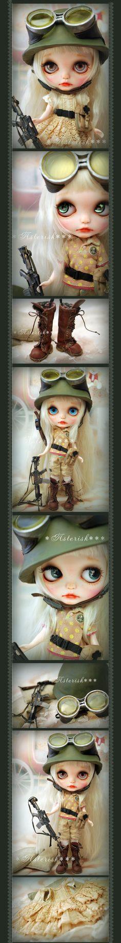 *カスタム ブライス Pretty Soldier☆-Asterisk*** - ヤフオク!