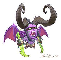 John Polidora Blizzard Entertainment Illustrator, Concept Artist, Character Designer Irvine, United States of America  Если вы когда-нибудь интересовались, какие задачи получают художники Blizzard, то вот вам пример: Одна из задач креативного художника Близзард - Cute But Deadly (Милые но смертельные)