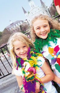 Family Itinerary - new orleans with kids