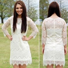 NWT White Lace Dress Wedding Bride Summer Spring Perfect dress for all the spring and summer brides! It's a gorgeous dress that's sure to turn heads! Runs a little small, so size up. Paperback Boutique Dresses
