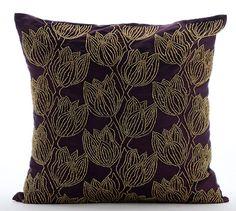 Decorative Throw Pillow Covers Accent Pillow Couch Toss Sofa Pillow 16x16 Deep…