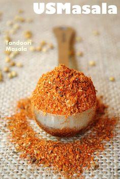 How to make Homemade #Tandoori #Masala, the main #Spice blend (similar to Garam Masala) behind all the delicious tandoori and tikka dishes!