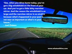 Coming back from my first cross country road trip this quote just seems so fitting. #movingforward #lettingoofthepast