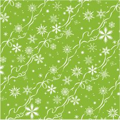 Search: anna griffin > Ribbon Snowflakes Paper - Christmas Kitsch - Anna Griffin: A Cherry On Top