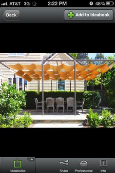 I love this patio cover from Houzz!