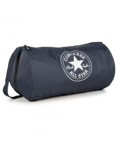 Converse Standard Duffel Bag is made from canvas and features a screen printed All Star logo on the front of the bag. #converse #dufflebag #backtoschool #bagsgalore #conversebags