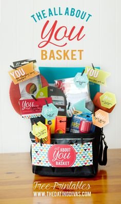 All About You Basket with FREE Printables.