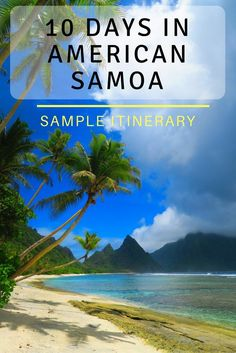 An in depth travel guide for independent travelers to American Samoa. We'll start off in Pago Pago before hopping on a tiny plane to the magical Ofu Island