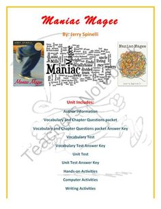 Book report maniac magee