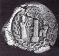 Hettite, seal,Acemhöyük,1800 BC, Ankara Anadolu Medeniyetleri Müzesi (Erdinç Bakla archive)