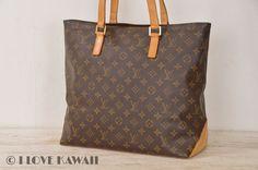 Louis Vuitton Monogram Cabas Mezzo Shoulder Bag M51151