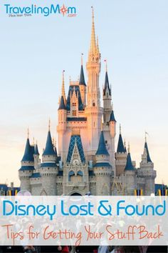 Lost and found at Disney can be a vacation ruining experience, but it doesn't have to be. Follow these best tips for working with Lost and Found, and you'll increase your chances of finding your lost item.