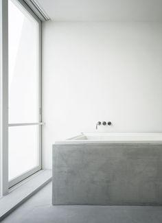 """""""Minimal: Concrete"""" by http://www.leuchtend-grau.de  Tetsuka House by John Pawson"""