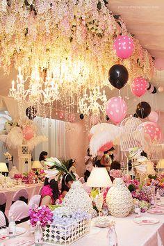 Paris birthday party..More great ideas