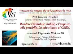Günther Dissertori, Rendere l'invisibile visibile, e l'impossibile possibile - 13 gennaio 2016 - YouTube