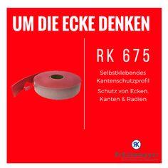 RK 675 - Kantenschutz zum Schutz von Gegenständen mit Ecken und Kanten #Krueckemeyer #Klebeband #Kleben #Adhesive #Tape #Oberflächenschutz