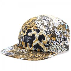 Stussy taps into their wild side with the leopard-infused camo print, Wildlife Camp Cap. Urban Fashion, Mens Fashion, Street Culture, Stussy, Camo Print, Ready To Wear, Wildlife, Baseball Hats, Cap
