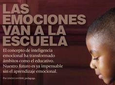 LAS EMOCIONES VAN A LA ESCUELA de Linda Lantieri http://www.lindalantieri.org/documents/NationalGeographicarticleEIthroughSEL_Spanish.pdf