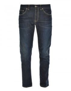 Designer Clothes, Shoes & Bags for Women Dark Wash Jeans, Dark Blue Jeans, Skinny Fit Jeans, Superenge Jeans, Low Rise Jeans, Mens Fashion, Stylish, Men's Clothing, Cotton