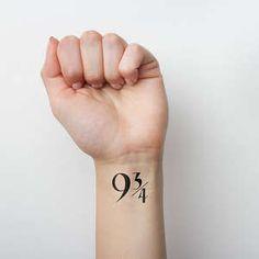 21 tatouages éphémères pour les VRAIS fans d'Harry Potter !