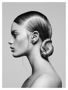 le chignon Ꮎ hair coiffure cheveux haar frisur Sleek Hairstyles, Summer Hairstyles, Wedding Hairstyles, Fashion Hairstyles, Blonde Hairstyles, Creative Hairstyles, Wedding Updo, Beauty Shoot, Hair Beauty