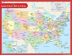 12 best charts images on pinterest classroom charts school us map chart publicscrutiny Image collections