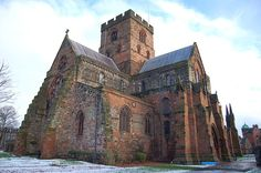Carlisle Cathedral was built, starting in 1122 under King Henry I of England as an Augustinian Priory.