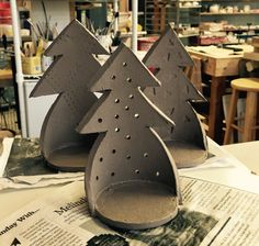 holiday luminaries in making - for ordering contact us at Etsy shop LaBote at surprisesaffron@gmail.com