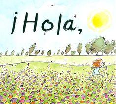 Ilustración de Matthew Cordell para su obra ¡Hola! ¡hola!