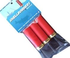 This is a great gift for any fisherman, hunter, or outdoorsman. Its a fishing bobber that looks like a bunch of shotgun shells. This pack comes with 3 shellbobbers.