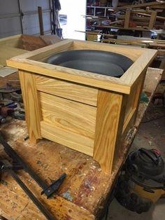 Cypress planter box